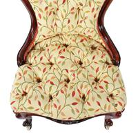 Victorian Rosewood Ladies Chair (4 of 8)