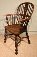 Ash & Elm Low Back Windsor Armchairs (7 of 9)