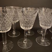 Eight Waterford 'Alana' Claret Glasses (2 of 3)