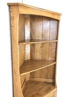 Vintage Elm Ercol Corner Cupboard (9 of 9)