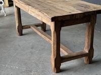 Normandy Oak Farmhouse Table & Bench Set (11 of 19)