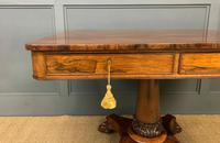 William IV Rosewood Library Centre Table (4 of 18)