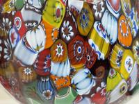 2 Beautiful Italian Murano Fratelli & Torso Millefiori Glass Vases (29 of 34)