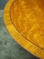 Victorian Mahogany Large Oval Breakfast Table (5 of 8)