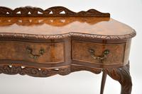 Queen Anne Style Burr Walnut Server Table c.1930 (6 of 12)