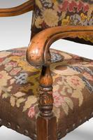 Good 19th Century Walnut Framed Chair (5 of 6)