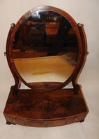 Sheraton mahogany toilet mirror (4 of 6)