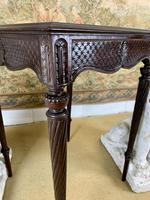 19th Century Carved Mahogany Occasional Table (7 of 7)