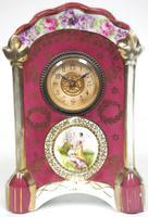 Fantastic Antique French / German Sevres Mantel Clock