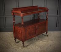 Victorian Mahogany Buffet Cabinet (2 of 15)