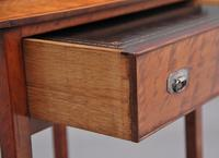 19th Century  Satinwood Ladies Writing Table in the Sheraton Style (14 of 15)