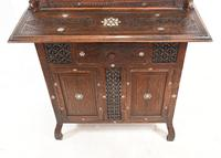 Syrian Inlay Cabinet Bookcase Damascan Islamic Interiors c.1880 (9 of 14)