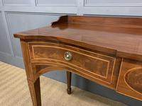 Inlaid Mahogany Serpentine Fronted Serving Table (5 of 14)