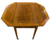 A George III Mahogany Satinwood Table (4 of 8)