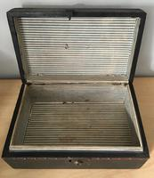 American Cloth Covered Deed Box (4 of 5)