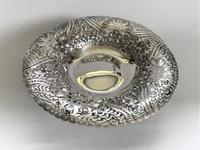 A Gorgeous Victorian Pierced Silver Dish (4 of 7)