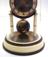 Good Kaiser Universe 400-day Mantel Clock – Astral Torsion Clock Signed Base (2 of 9)