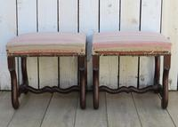 Pair of Os De Mouton Foot Stools (4 of 7)