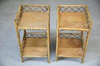 Cane & Bamboo Side Tables (6 of 8)