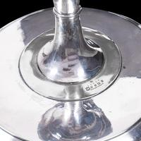 Antique Cake Stand, English, Silver Plate Serving Dish, Afternoon Tea, Victorian (8 of 8)