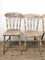 Set of Four Antique Kitchen Chairs (5 of 11)