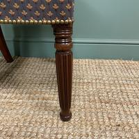 Superb Quality William IV Set of Six Mahogany Antique Dining Chairs (6 of 9)