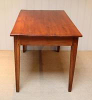 Small Proportioned French Provincial Cherry Wood Table (6 of 10)