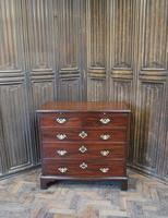 Small Georgian Mahogany Chest of Drawers (4 of 7)
