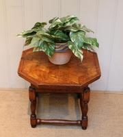Small Oak Parquetry Top Table (5 of 10)