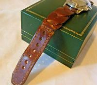 Vintage Tissot (omega) Jubileum Wrist Watch 1953 16 Jewel Stainless Steel Case Fwo (11 of 12)