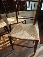 Four Faux Bamboo Chairs (2 of 5)