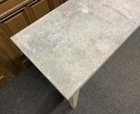Large 19th Century French Zinc Top Table (8 of 13)