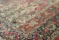 Fine Silk Carpet Rug Roses (3 of 9)