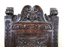 Victorian Carved Oak Chair (8 of 9)