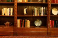 Important Gothic Revival Oak Open Bookcase - 19th Century - France (11 of 11)