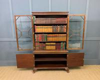 Burr Walnut Bookcase by Jas Shoolbred (7 of 19)