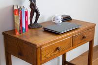 Vintage Mid Century 2 Drawer Oak Desk by Gordon Russell (2 of 14)