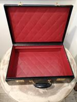 Gents Art Deco Leather Suitcase & Dressing Case (13 of 13)