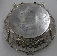 Pair of Antique Victorian Silver Baskets - London 1882 (2 of 8)