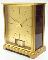 Rare 1960's Jaeger Lecoultre Atmos Mantel Clock – Swiss Made Model VII Red 1967 (3 of 13)