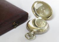 Small Silver Waltham Royal Hunter Pocket Watch (5 of 6)