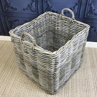 Wicker Log Basket (2 of 3)