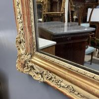 Very Large French Paint & Gilt Mirror (8 of 9)