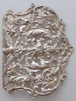 Large Victorian 1897 Hallmarked Solid Silver Nurses Belt Buckle (3 of 7)