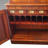 Victorian Mahogany Glazed Library Bookcase (10 of 11)