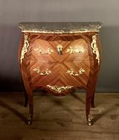 Small French Louis XVI Style Bombe Commode (9 of 12)