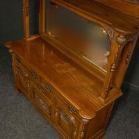 Late Victorian Mahogany Sideboard (4 of 19)