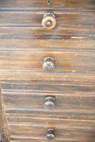 Pair of Stained Beech Chest of Drawers (6 of 16)