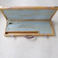 Vintage Wooden Leatherette Covered Shotgun Case (4 of 4)