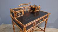 Victorian Lacquered Bamboo Desk (2 of 6)